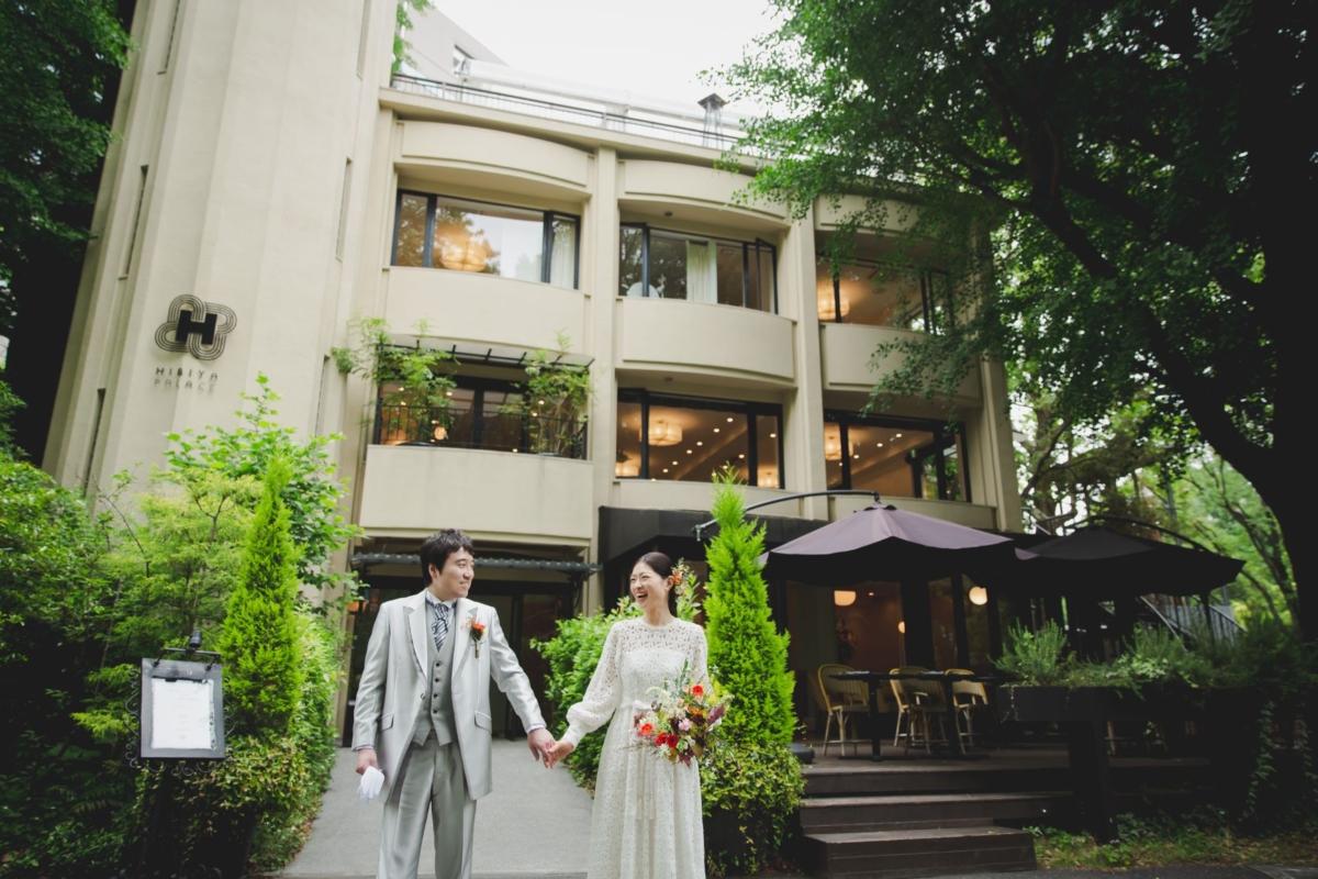 5月に新緑の美しい日比谷パレスホテルで挙式されたS.Y様